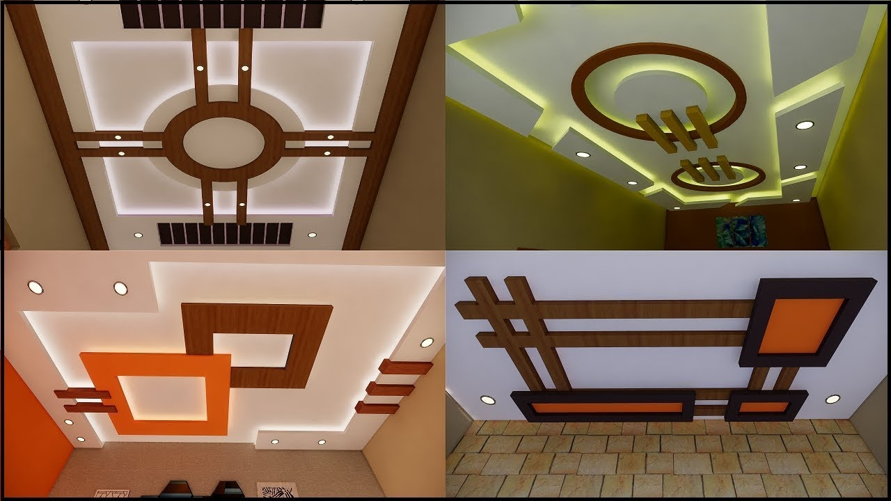 8 Pics False Ceiling Simple Designs For Hall And View ...