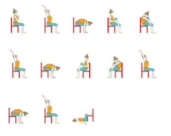 8 photos chair yoga for seniors printable and view  alqu blog