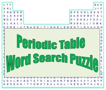 8 Images Section 3 Reinforcement The Periodic Table Word ...