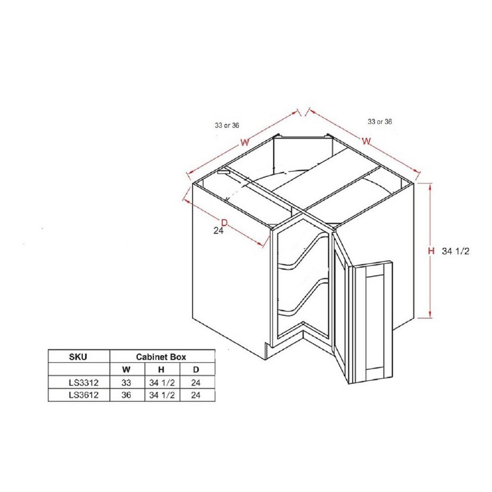 8 Images Standard Lazy Susan Cabinet Sizes And Review ...