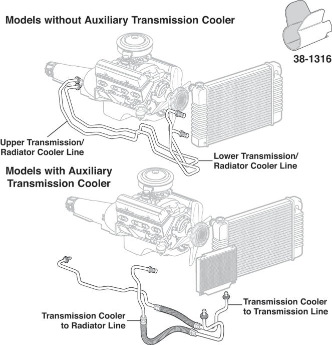 4 Images 4l60e Transmission Cooler Lines Diagram And View