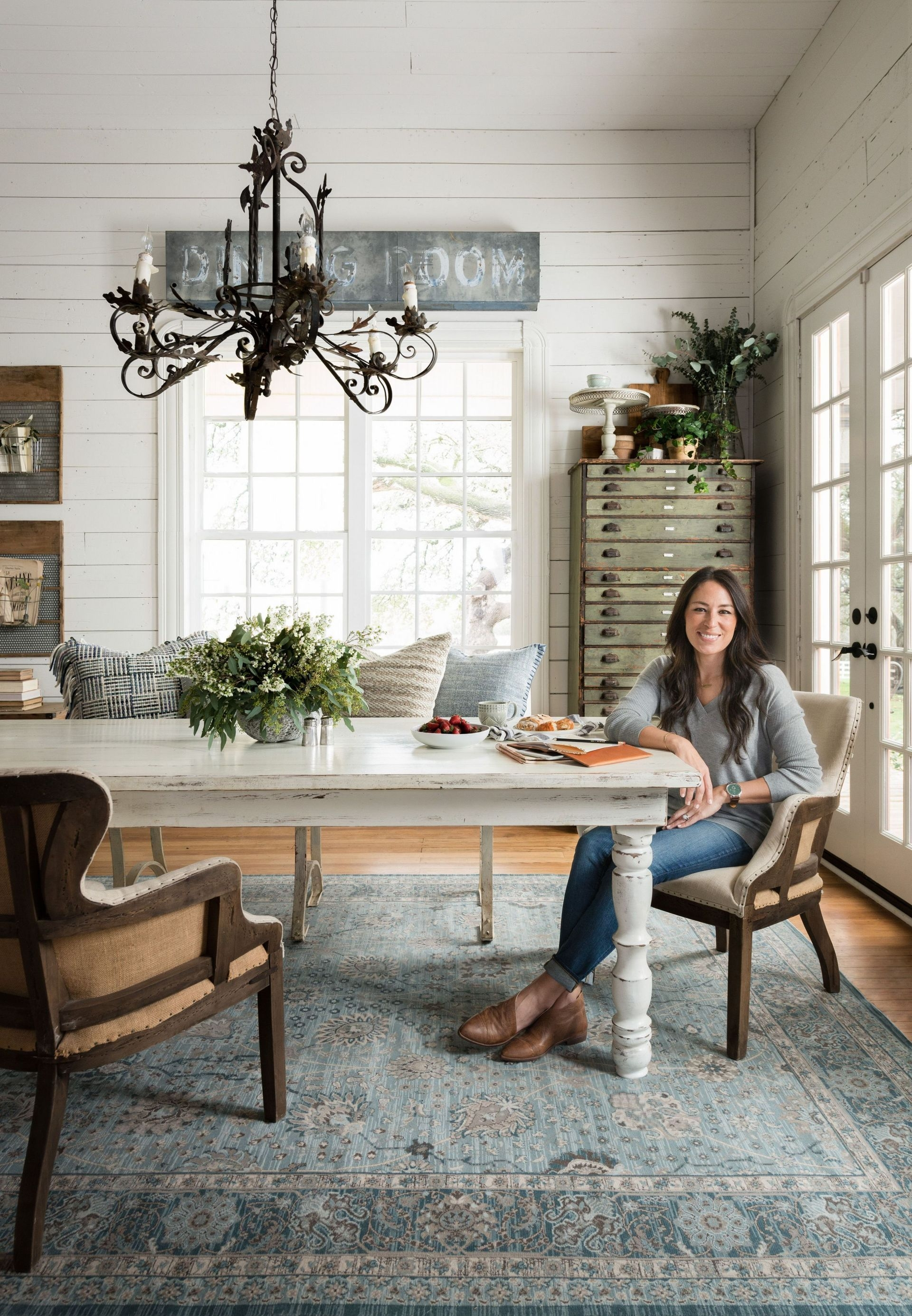 8 Pics Joanna Gaines Dining Room Decorating Ideas And ...