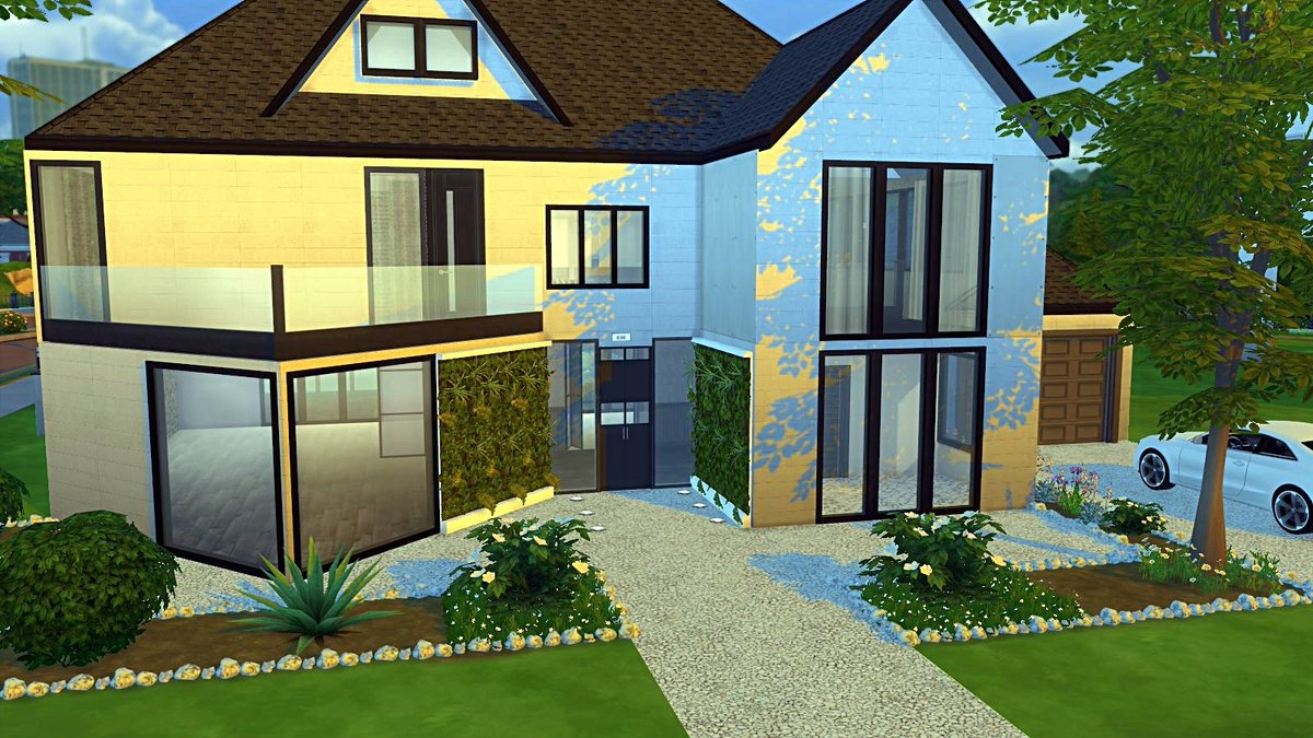 8 Images Sims 4 Maison Moderne And Review - Alqu Blog
