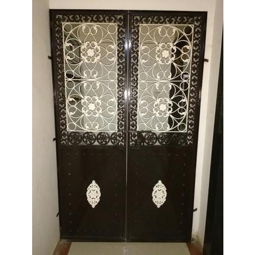 7 Pics Iron Safety Door Designs For Home And Review - Alqu ...