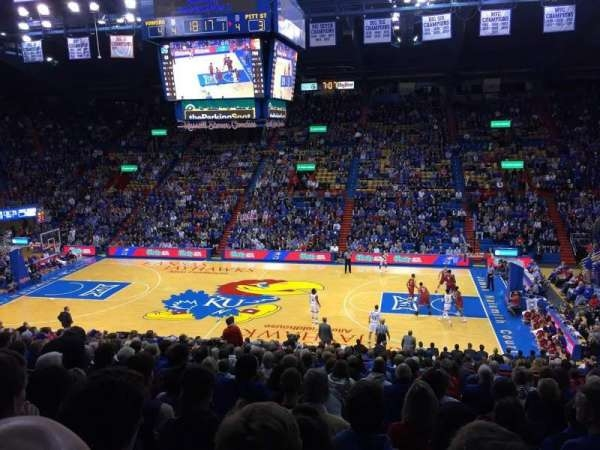 8 Photos Allen Fieldhouse Seating Chart Virtual And Review ...