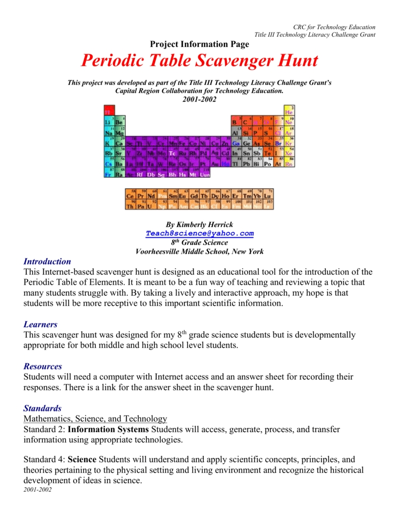 7 Photos Periodic Table Facts Worksheet Answer Key ...