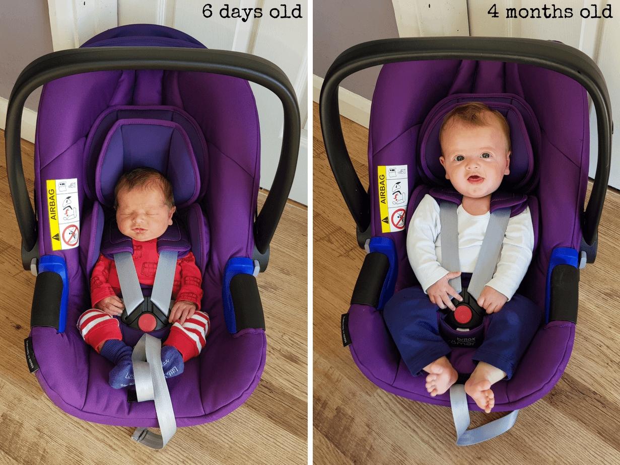 Römer Baby Safe Neugeboreneneinsatz