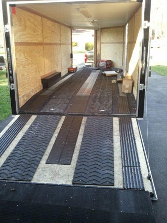 8 Photos Snowmobile Trailer Floor Protection And Review ...